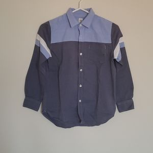 Gap Boys Long Sleeve Button up Shirt